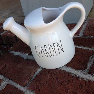 "Rae Dunn ""GARDEN"" watering can"